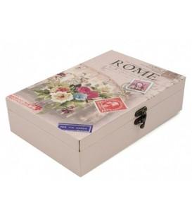 Ящик для ключей настенный 25,5*18,5*6,5 см