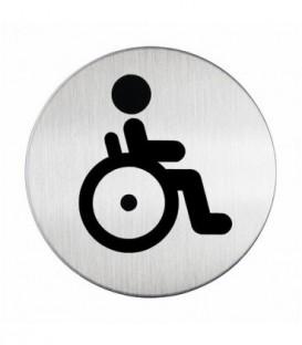 Пиктограмма информационная «WC для инвалидов»