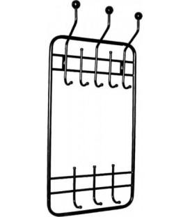 Вешалка настенная 450*890*102 мм, черная