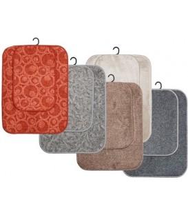 Комплект ковриков универсальных «Не мелочи жизни!» 60*80 см/40*60 см, ассорти