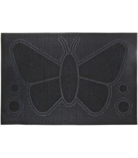 Коврик придверный «Белбогемия» 40*60 см, резиновый, черный