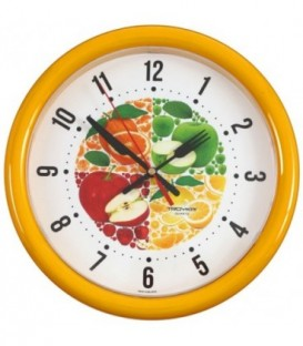 Часы настенные «Тройка» «Фрукты»