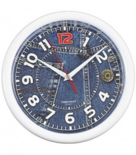 Часы настенные «Тройка» «Джинсы»
