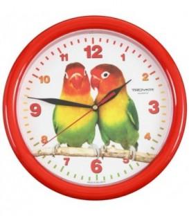 Часы настенные «Тройка» «Попугаи»