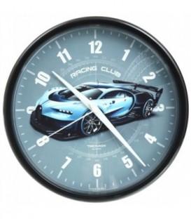 Часы настенные «Тройка» рамка черная, «Авто»
