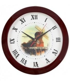 Часы настенные «Тройка» «Мельница»