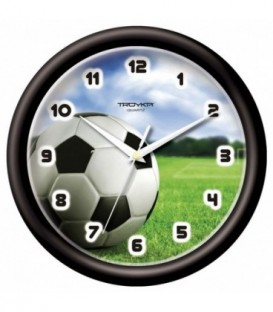 Часы настенные «Тройка» «Футбол»