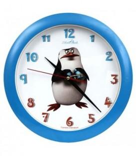 Часы настенные «Авангард» «Пингвины»