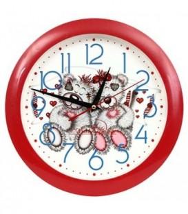 Часы настенные «Авангард» «Мишки»