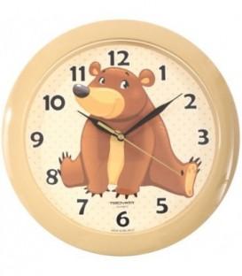Часы настенные «Тройка» «Мишка»