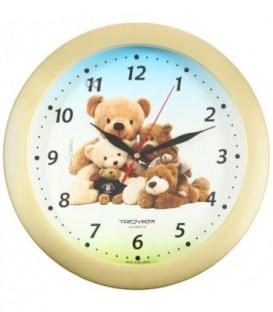 Часы настенные «Тройка» «Мишки»