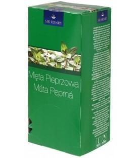 Чай Sir Henry 56,25 г, 25 пакетиков, Peppermint, напиток чайный с мятой