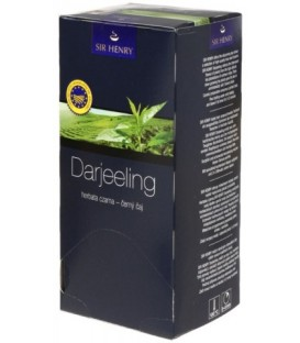 Чай Sir Henry 43,75 г, 25 пакетиков, Darjeeling, чай черный