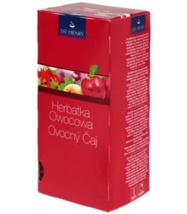 Чай Sir Henry 75 г, 25 пакетиков, Fruit Infusion, напиток чайный с ароматом фруктов