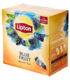 Чай Lipton ароматизированный в пирамидках 36 г, Blue Fruit, черный чай