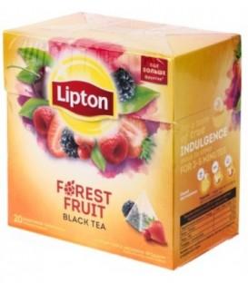Чай Lipton ароматизированный в пирамидках 34 г, Forest Fruit, черный чай