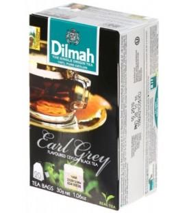 Чай Dilmah 30 г, 20 пакетиков, чай черный с ароматом бергамота, Earl Grey