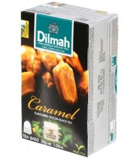 Чай Dilmah 30 г, 20 пакетиков, чай черный с ароматом карамели, Caramel