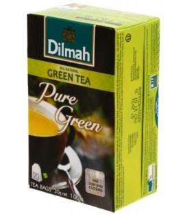 Чай Dilmah 30 г, 20 пакетиков, чай зеленый