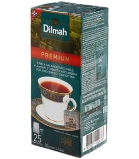 Чай Dilmah 50 г, 25 пакетиков, черный чай