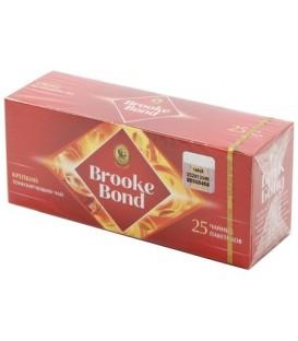 Чай Brooke Bond 45 г, 25 пакетиков, черный чай
