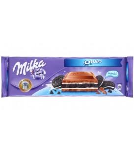 Шоколад Milka 300 г, Oreo, молочный