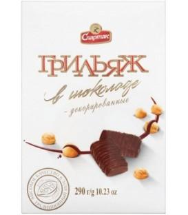 Набор конфет «Грильяж в шоколаде» 290 г