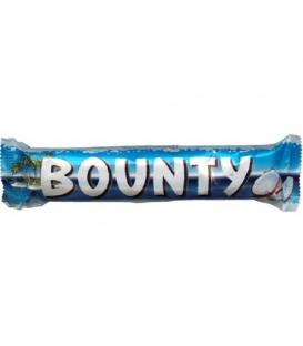 Конфета Bounty 55 г, с мякотью кокоса, 2 конфеты