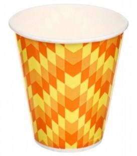 Стакан одноразовый для горячих напитков 300 мл, «Зиг-заг»