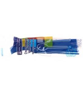 Набор вилок одноразовых «Мистерия» длина 165 мм, 12 шт., синие