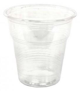 Стакан одноразовый пластиковый 100 мл, прозрачный