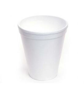 Стакан одноразовый для горячих напитков 200 мл, белый