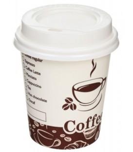 Стакан одноразовый бумажный для горячих напитков «Мистерия» 250 мл, «Турецкий кофе»