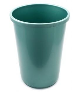 Корзина для бумаг 12 л, зеленая