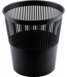Корзина для бумаг сетчатая 10 л, черная