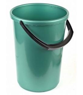 Ведро пластиковое 12 л, зеленое