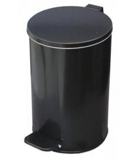 Урна для мусора с педалью 10 л, высота 310 мм, черная