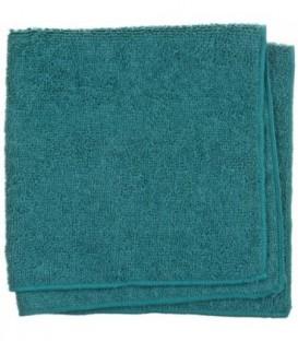 Салфетка из микрофибры «Квартал чистоты» 40*40 см, зеленая