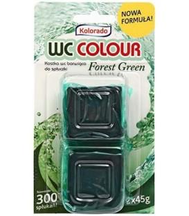 Таблетка для бачка унитаза Kolorado 2 шт., зеленые