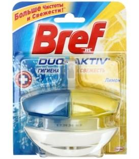 Чистящее средство для унитаза Bref Duo Activ 50 г, «Лимон»