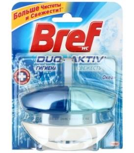 Чистящее средство для унитаза Bref Duo Activ 50 г, «Океан»