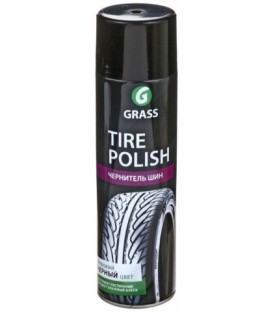 Чернитель шин Grass Tire Polish 650 мл, аэрозоль