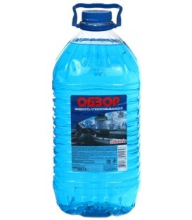 Жидкость стеклоомывающая «Обзор» 5000 мл