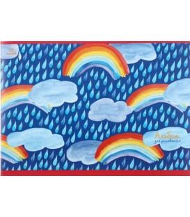 Альбом для рисования А4 «Радужное небо» 10 л.