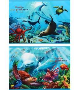Альбом для рисования А4 «Манималс. Море» 40 л.
