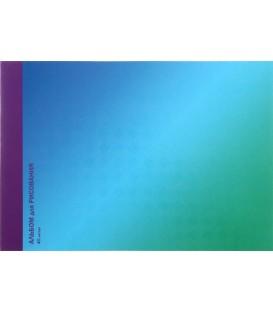 Альбом для рисования А4 «Гармония цвета» 40 л., «Лазурный градиент»