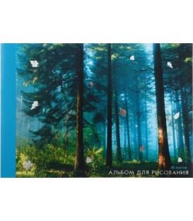 Альбом для рисования А4 «Магия леса» 40 л.