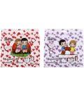 Фломастеры смываемые Love is... 18 цветов, толщина линии 1-2 мм, вентилируемый колпачок, ассорти (цена за 1 набор)