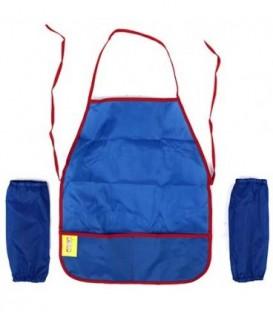 Фартук для труда с нарукавниками «Каляка-Маляка» 46*38 см, синий