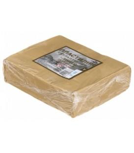 Пластилин скульптурный «Гамма.Лицей» 500 г, телесный, твердый